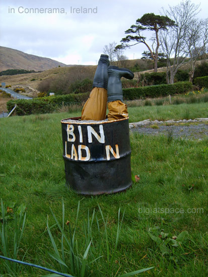 bin laden in ireland
