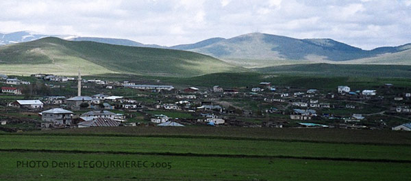 village in the steppe