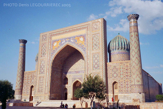 SamarkandRegistan (Sher Dor Medressa)