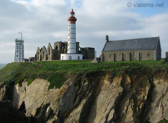 phare abbaye chapelle pointe saint mathieu