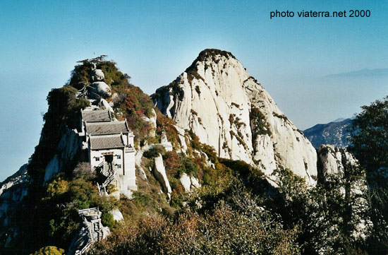 china huashan taoist mountain