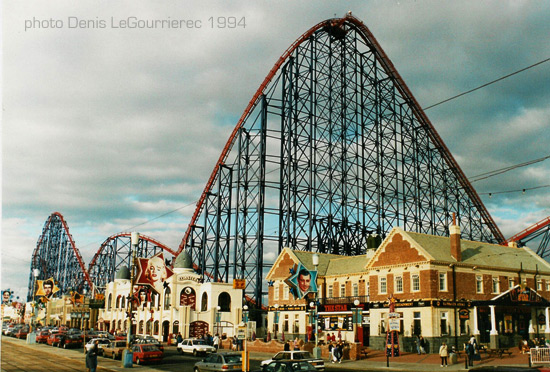 Blackpool roller coster
