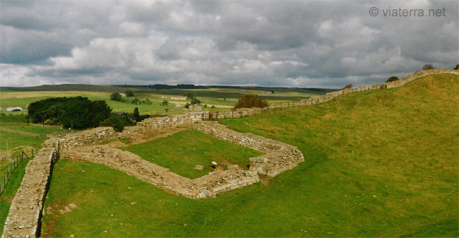 hadrian wall milecastle 42 Cawfields