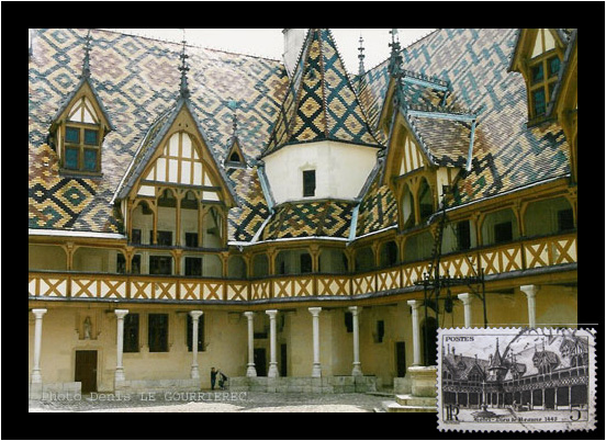 Travel and tourism place and picture france hotel dieu for Hotels beaune