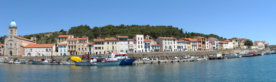 panorama port-vendres