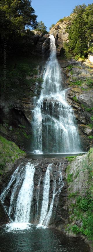 Panorama de la cascade de runes for Le pamir nantes