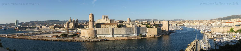 Panoramic view marseille - Parking vieux port fort saint jean marseille ...
