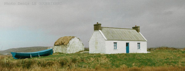 irish traditionnal cottage