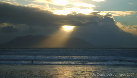 sunset inch beach