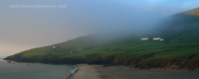 blasket island morning mist