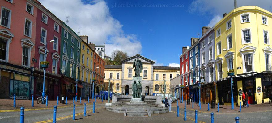 Panorama von cobh casement square for Le pamir nantes