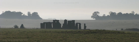 stonehenge panoramic photo