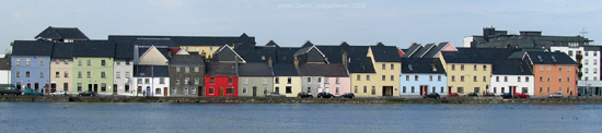 galway city panorama