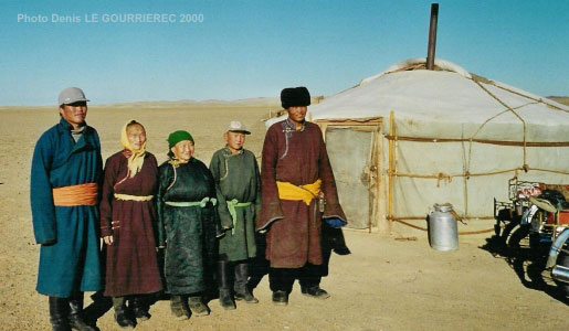 host familly in the Gobi