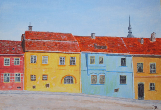 Sighisoara painting