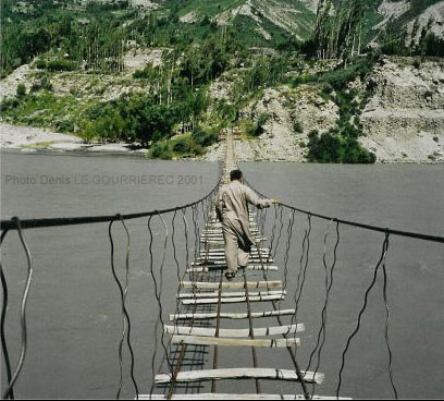 hunza river bridge