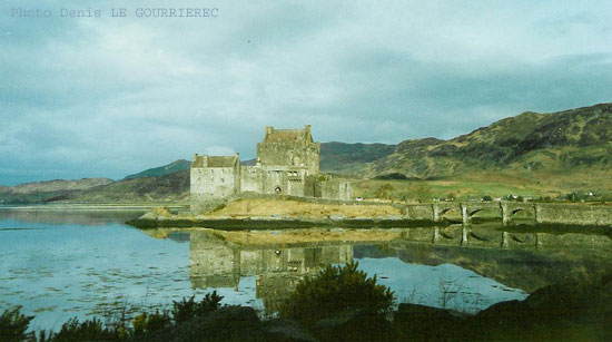 Scotland Highland castle