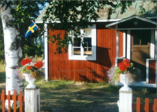 traditional swedish house