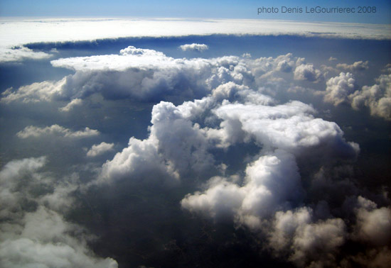 clouds seen from the plane