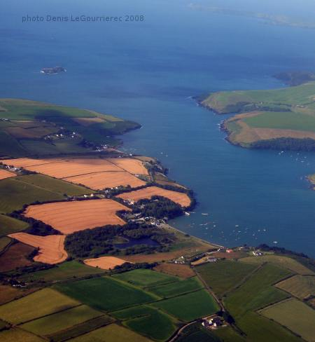 oysterhaven from the sky